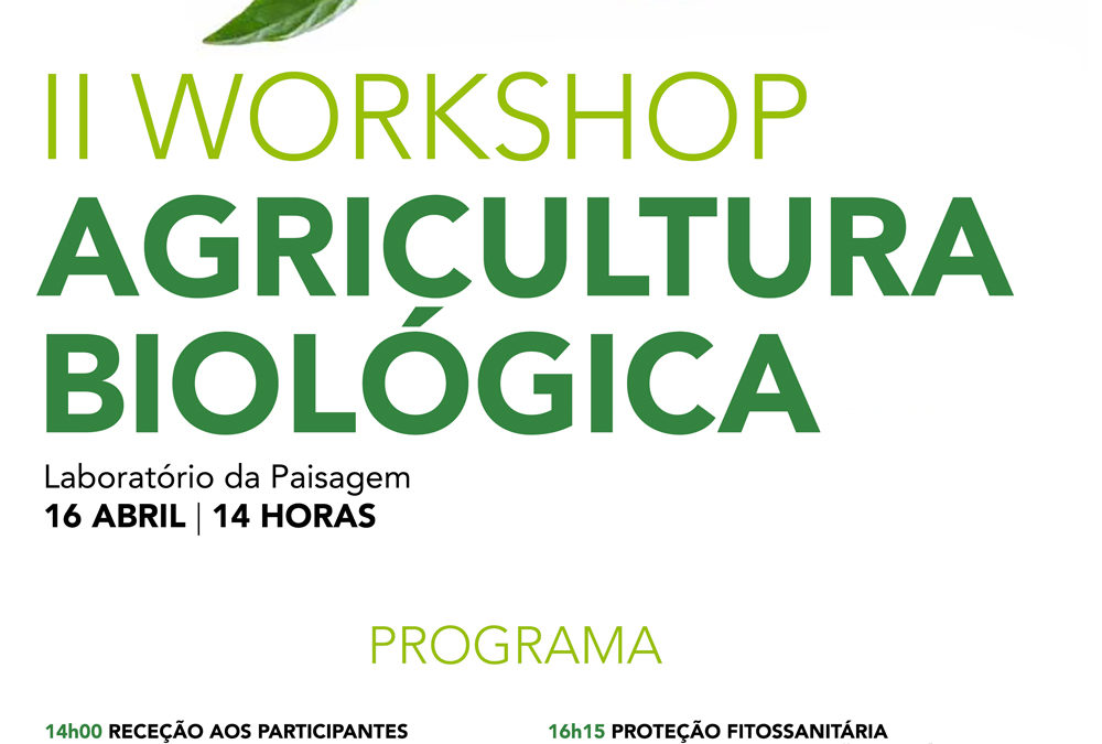 II workshop Agricultura Biológica