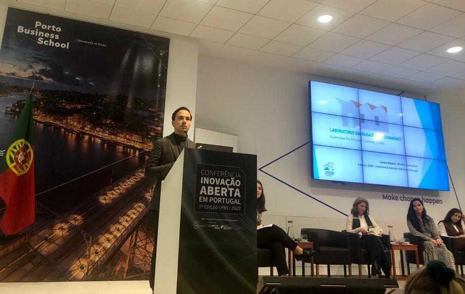 """Laboratório da Paisagem na Conferência """"Inovação Aberta em Portugal"""""""